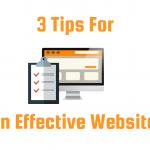 3 Tips For An Effective Website